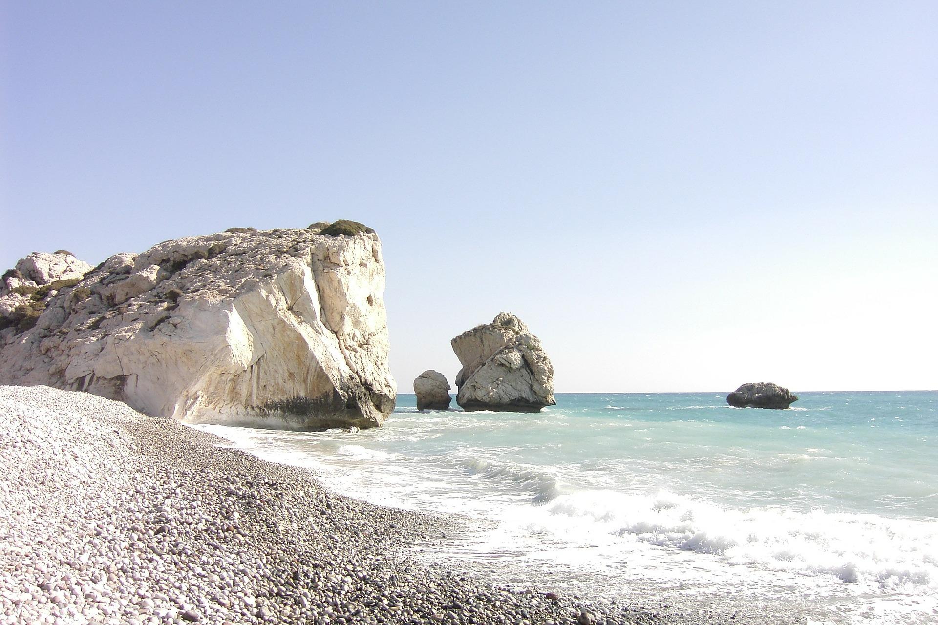 Sea Coast With Giant Boulders